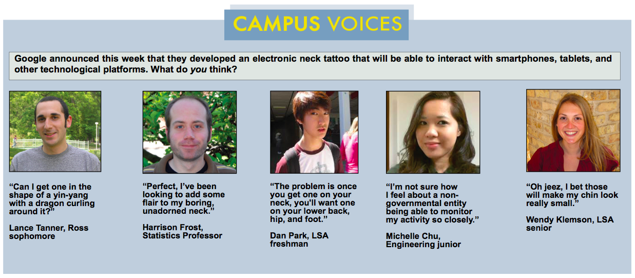 Campus Voices - November 2013