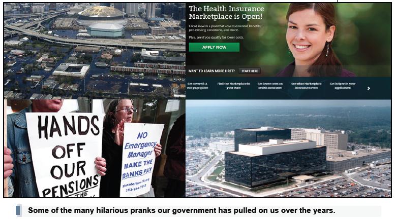 government pranks