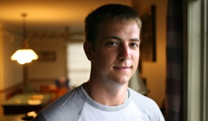 Ryan Brown, 21, of Upper Allen Twp., was among 24 Messiah College students and two professors who were on a flight from San Juan, Puerto Rico to Philadelphia that had to make an emergency landing. Brown is a junior at Messiah College majoring in health and physical education. DAN GLEITER, The Patriot-News