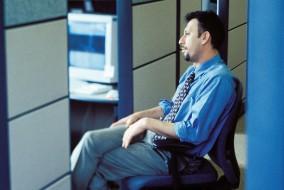 cubicle man