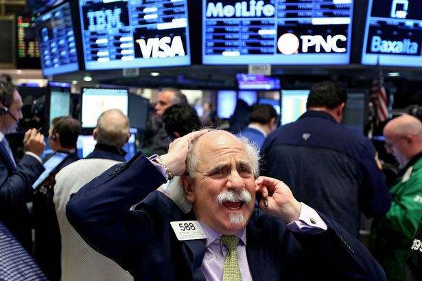 Stocks Plummet After Gary Presses The Wrong Button Again