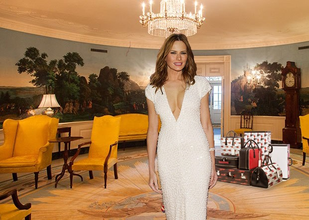 Billionaire First Lady Unimpressed With 18th Century White