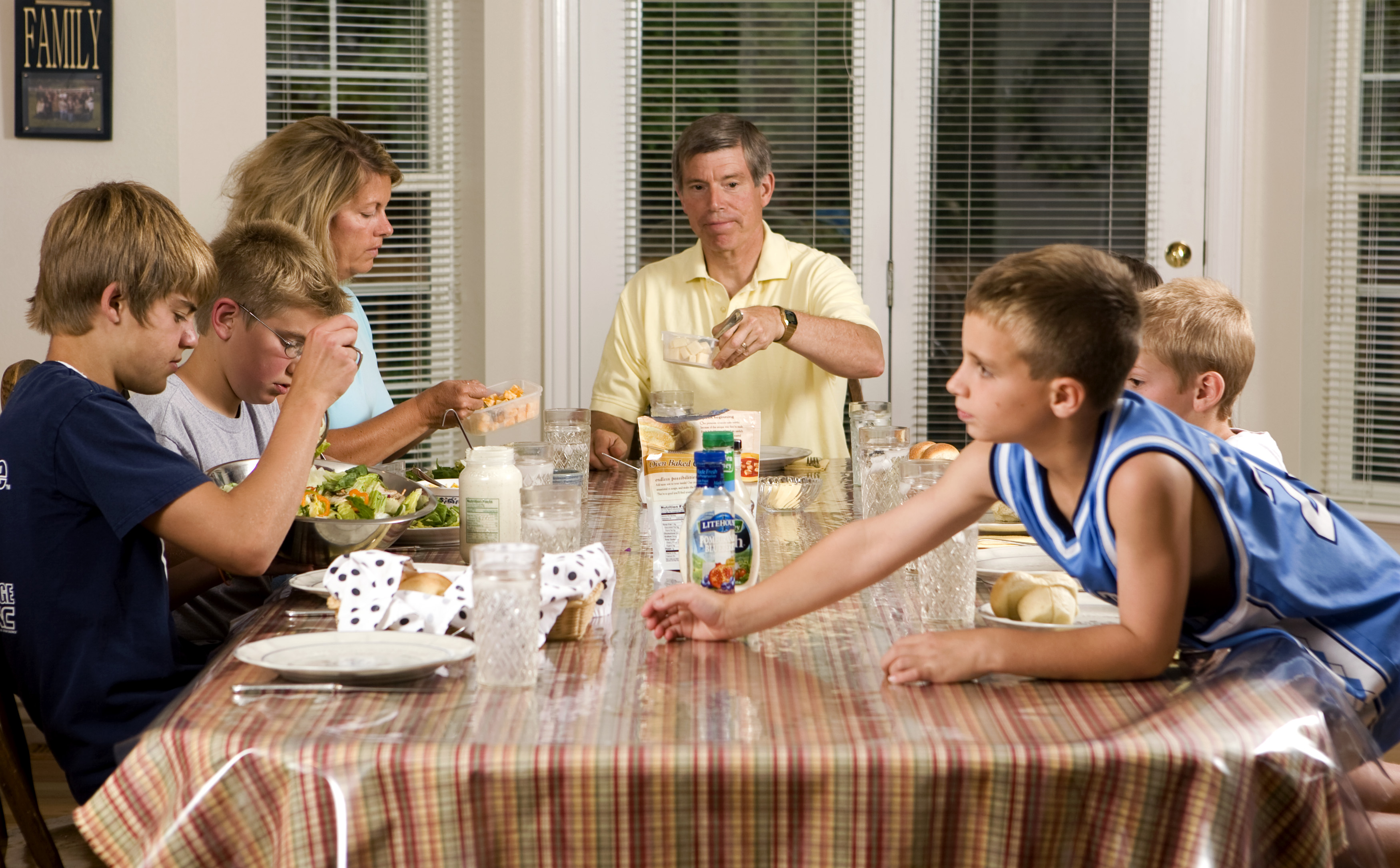 Family Dinner Not Considered Over Until Everyone S