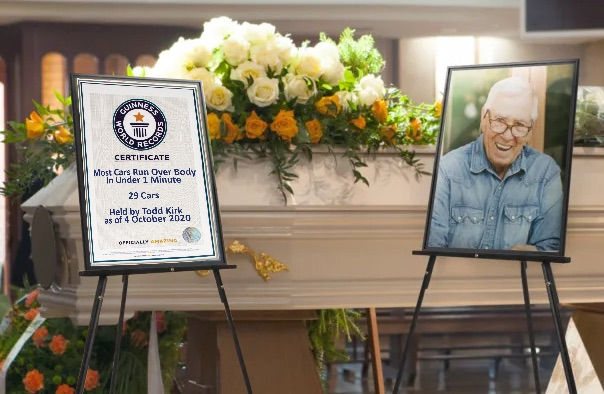 Todd Kirk presented with posthumous award
