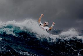Tom Brady Swept Away In Hurricane