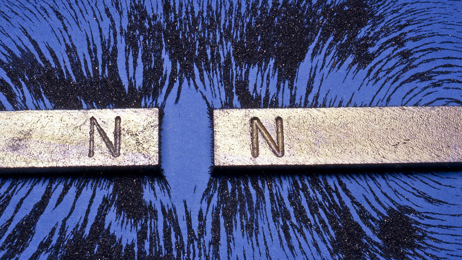 Two North end magnets inexplicably close to each other