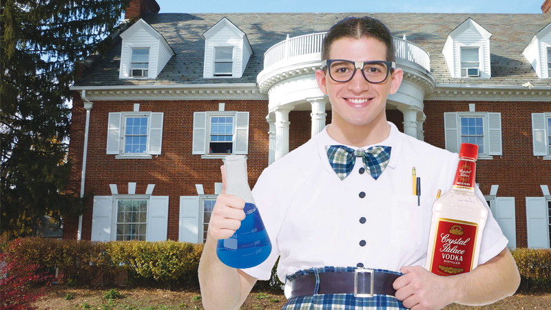 Student Acting Like Chem Frat Counts as Actual Frat | The