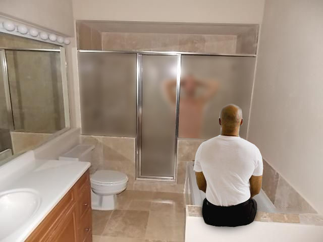 Area Man Gets All His Best Ideas While Watching Others Shower  The Every Three Weekly-9958