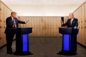 Politicians In Locker Room
