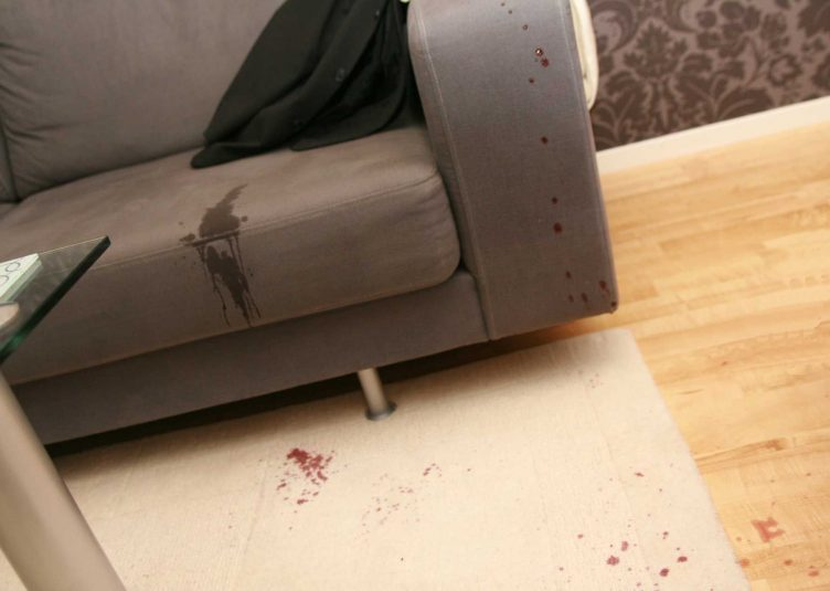 Spilled Drink On Couch