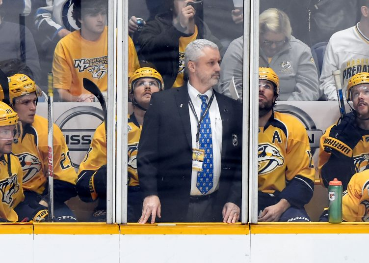 Hockey Players And Coach