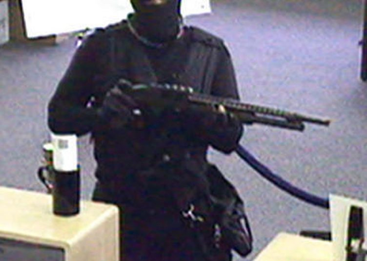 A bank robber.